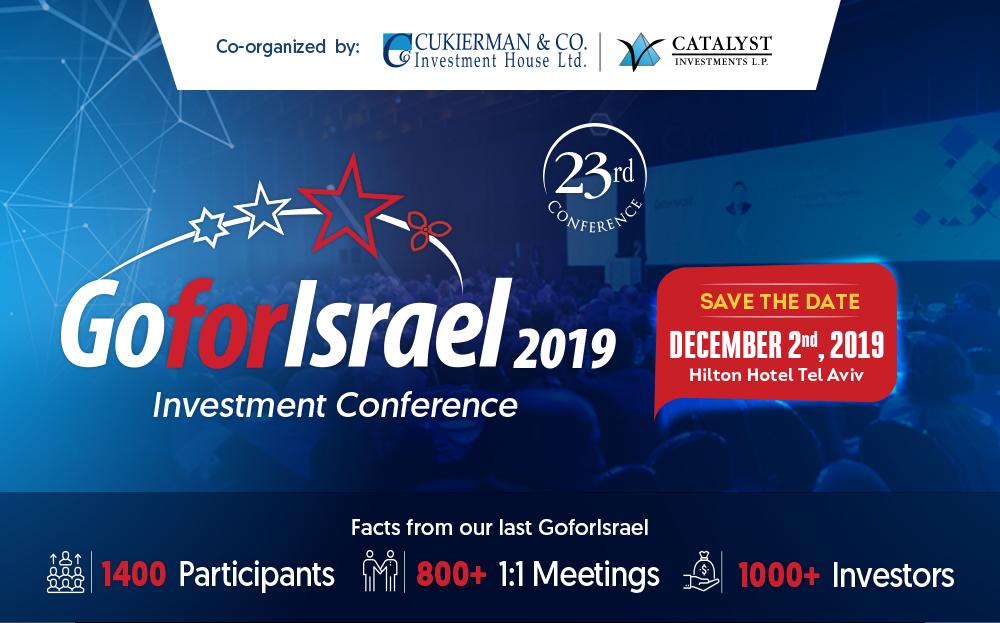 Garanteasy alla Conferenza Internazionale sugli Investimenti GoForIsrael 2019