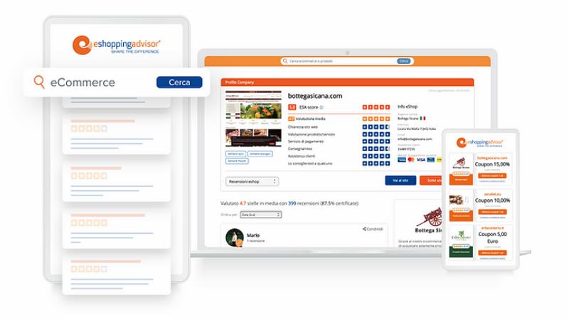 eShoppingAdvisor, il partner ideale di Garanteasy e degli e-commerce italiani per gestire la reputazione online